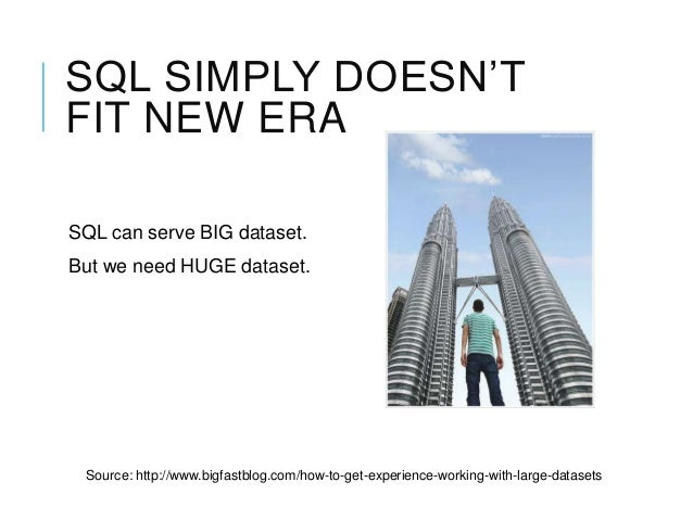nosql essay Nosql databases were the future  this essay is based on several years of  informal discussions, interviews with key stakeholders, parsing countless blog.