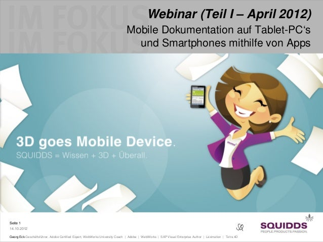 Webinar (Teil I – April 2012)                                                                            Mobile Dokumentat...
