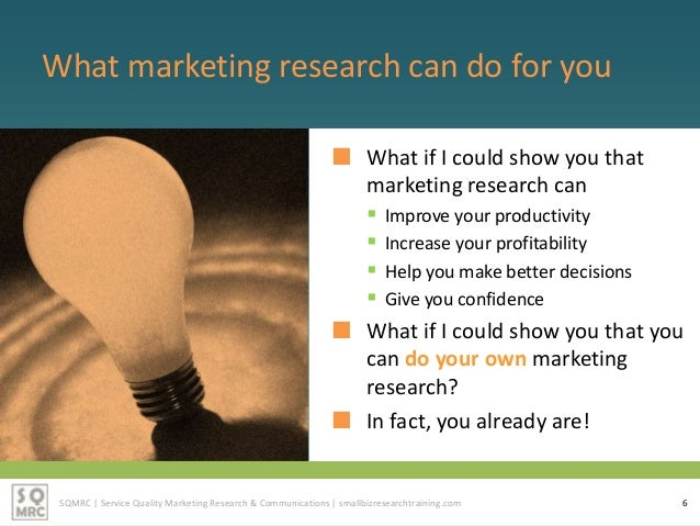 need for marketing research Advertisements: need and importance of marketing research the most important task of a marketer is to get the right product at the right place with the right price to the right person.