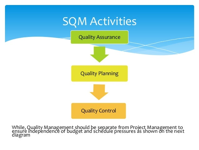 Software Quality Analyst and Software Quality Management