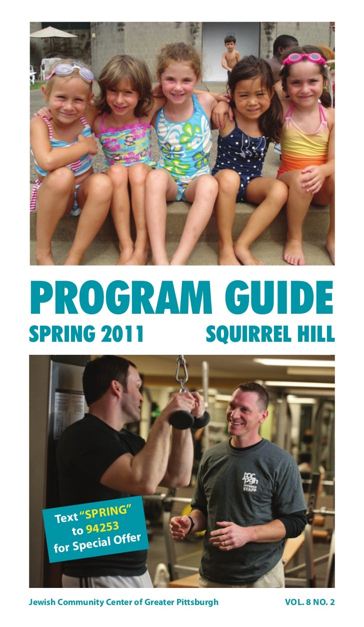 """PROGRAM GUIDESPRING 2011                               SQUIRREL HILL               RING""""      Text """"SP          to 94253 r..."""
