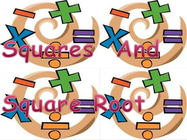 Squares and suare roots