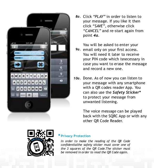 Safety QR Code - user guide-en