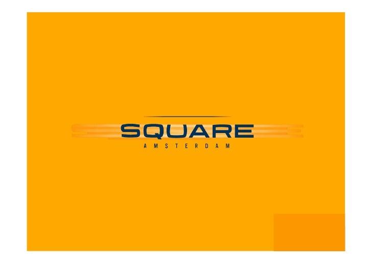 SQR Square Amsterdam portfolio