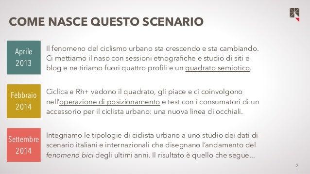 Squadrati - Ciclisti urbani: scenario e tipologia Slide 2
