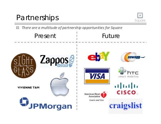 Partnerships ThereareamultitudeofpartnershipopportunitiesforSquare Present Future