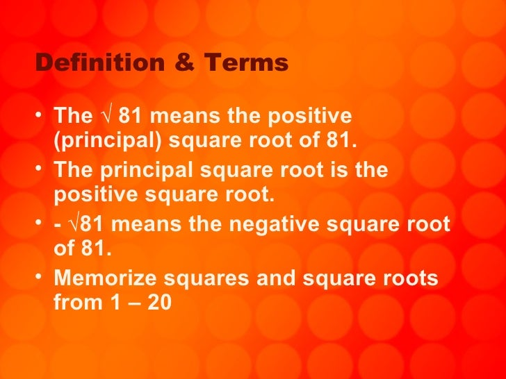 How To Memorize Square Roots 1 20 - Memorize Dairy