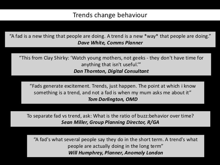 Fads vs Trends: How Organizations Can Tell The Difference (And Why it Matters)