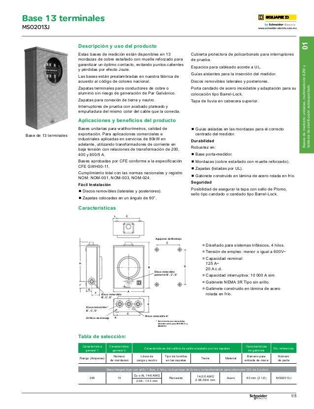 Catalogo square d interruptores termomagneticos pdf for Catalogo pdf