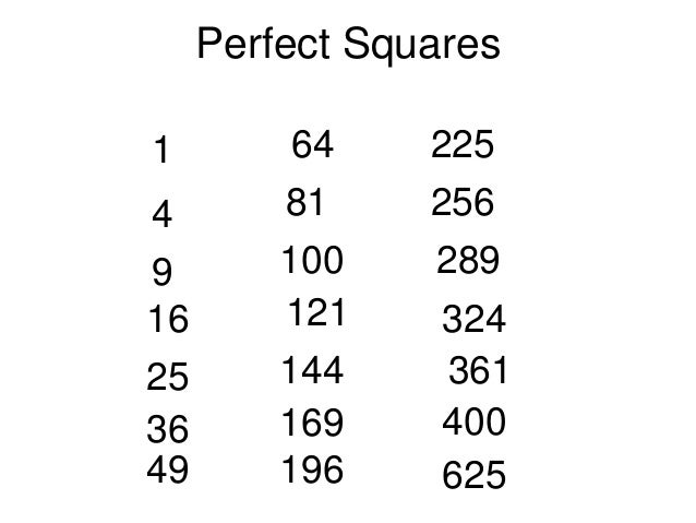 Squares And Square Roots Edmodo 2012 13 on Estimate Length