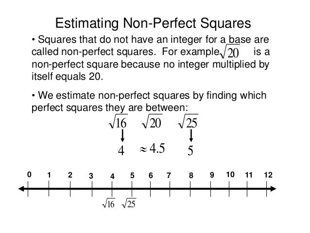 Squares And Square Roots Worksheet Squares And Square Roots Rs