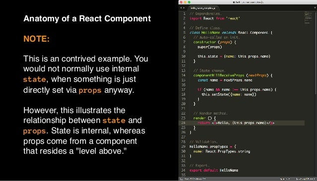 ©2015 T7 Let's walk through the structure of the T7 React starter project. First, we will look at the initial index.js fil...