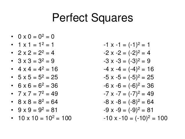 Free Worksheets Perfect Squares Worksheet Free Math Worksheets – Perfect Square Worksheet