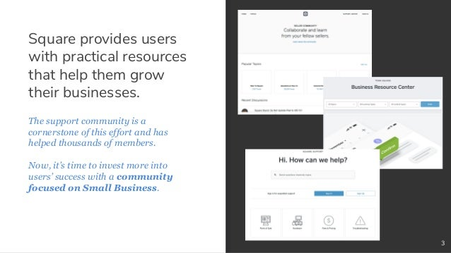 Transitioning A Community from Support to Niche Topic Slide 3