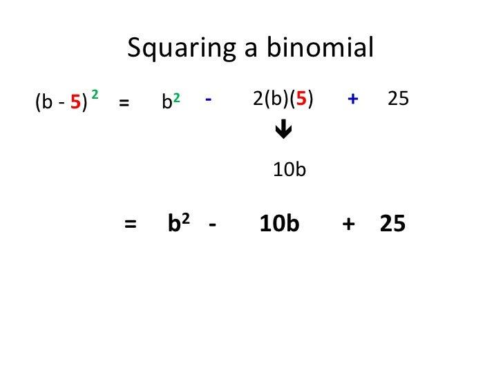 Squaring Binomials Worksheet Photos - Getadating