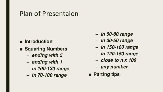 Squaring tricks for beginners Slide 2