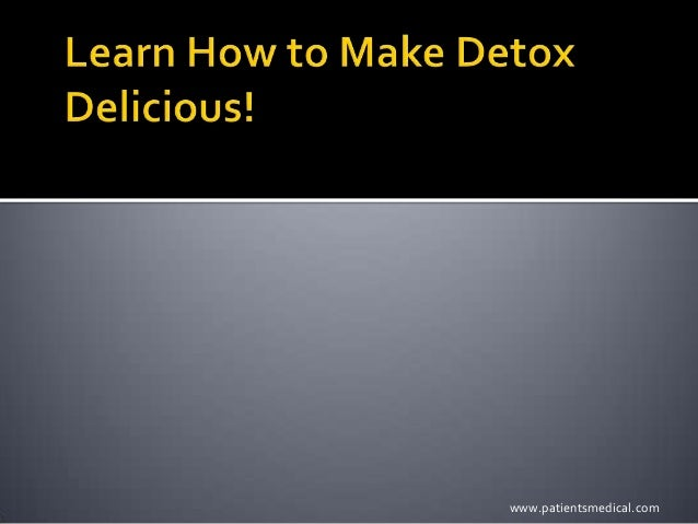 detox diät brigitte