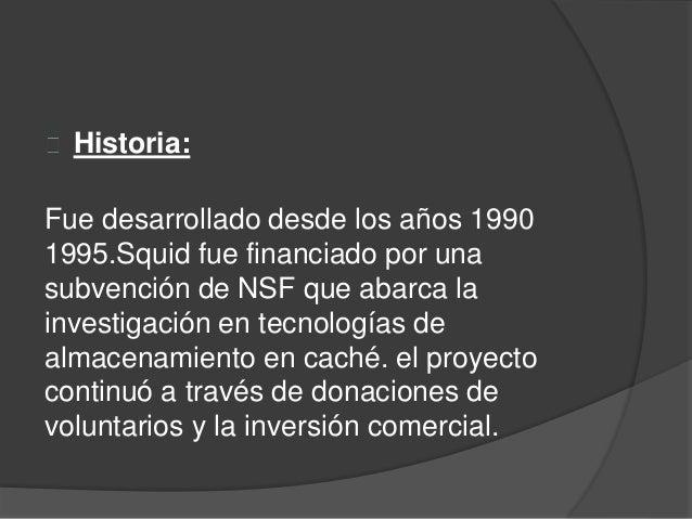 Squid  Slide 3