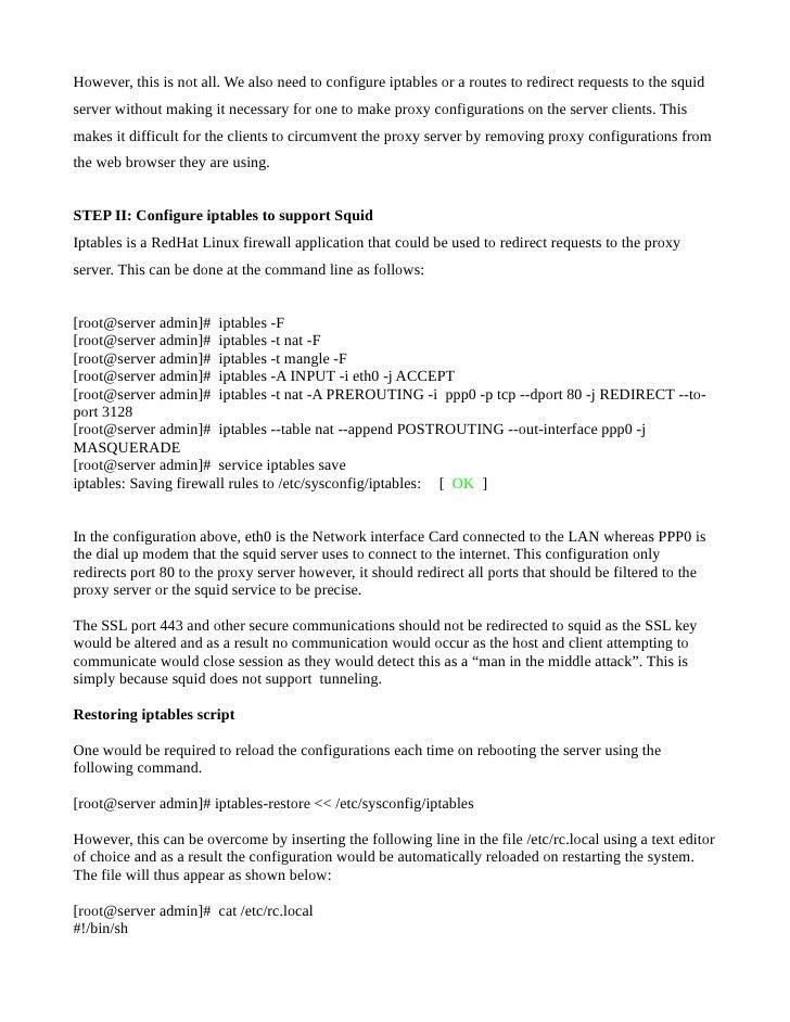 Squid proxy-configuration-guide