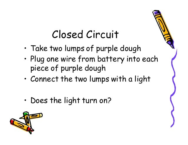 squishy circuits lesson plan rh slideshare net 2 Prong Plug Wiring wiring a plug lesson