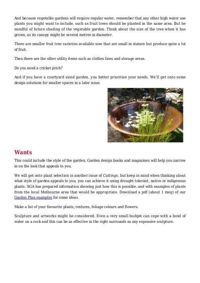 Sustainable Garden Design