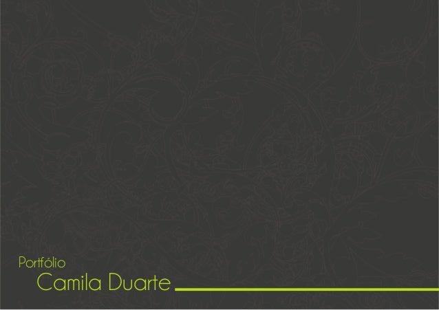 Camila Duarte Portfólio