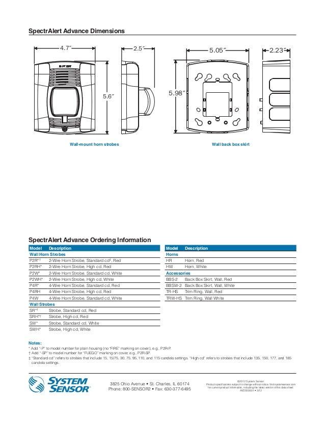 sr rh slideshare net GM Horn Wiring Diagram simplex horn strobe wiring diagram