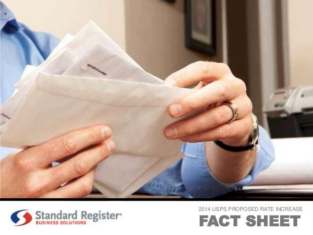 2014 USPS PROPOSED RATE INCREASE  FACT SHEET