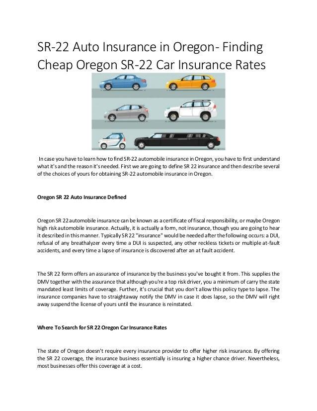 Cheap Sr22 Car Insurance | Life Insurance Blog