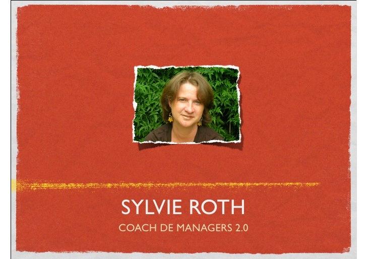 SYLVIE ROTH COACH DE MANAGERS 2.0