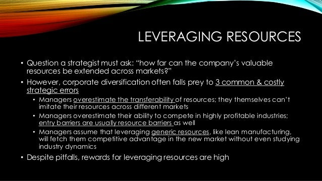 competing on resources collins and montgomery Collis, d j, and c a montgomery competing on resources: strategy in the  1990s harvard business review 73, no 4 (july–august 1995): 118–128.