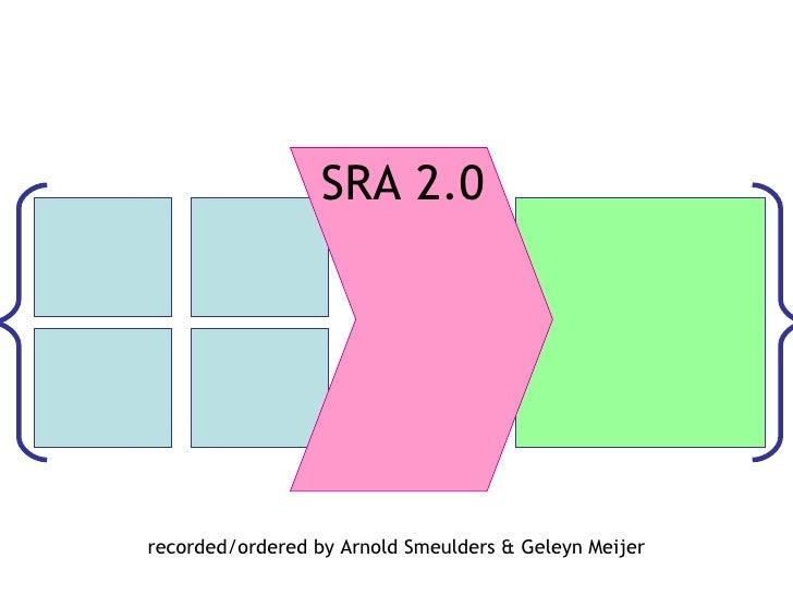 recorded/ordered by Arnold Smeulders & Geleyn Meijer SRA 2.0