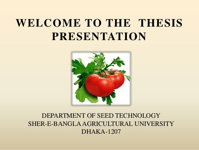 tomato tissue culture thesis This research is aimed to investigate the effect of organic additives on in vitro seed germination of tomato juice and banana seed germination and plant.