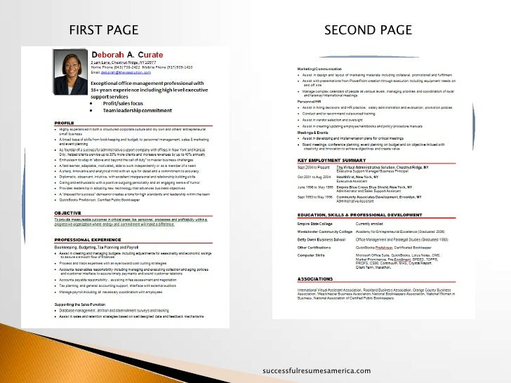 a successful resumes candidate makeover