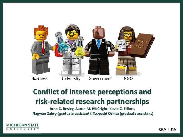 conflict of interest guidelines