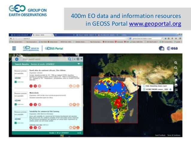 4Cs to discover, access and use geospatial data Collaboration: Community, Human Interoperability and Regions Communication...