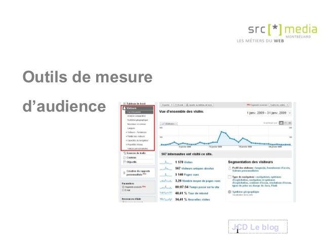 1 Outils de mesure d'audience JCD Le blog