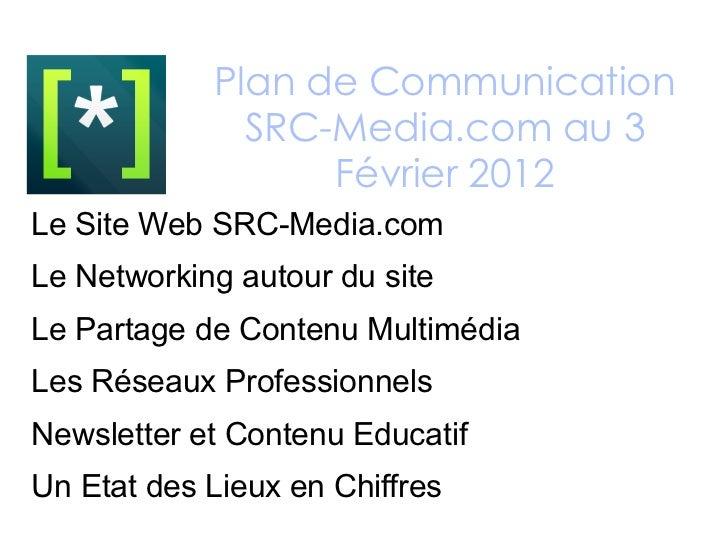 <ul><ul><li>Le Site Web SRC-Media.com