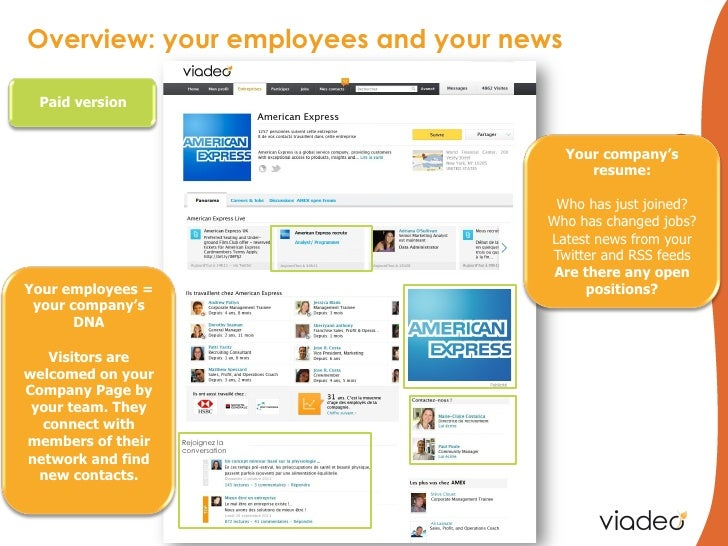 Overview: your employees and your news Paid version                                                                       ...