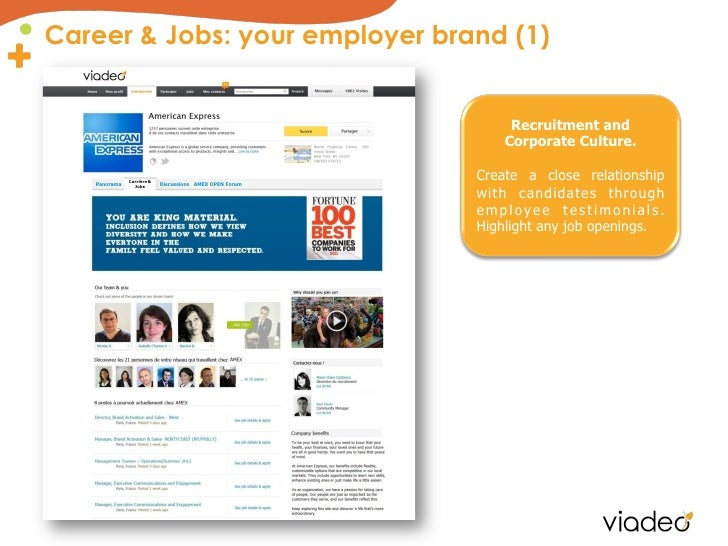 Career & Jobs: your employer brand (1)                                                              Recruitment and       ...