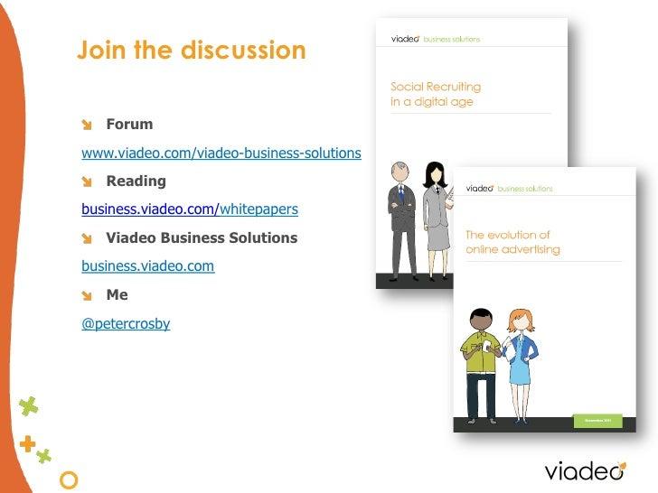 "Join the discussion""   Forumwww.viadeo.com/viadeo-business-solutions""   Readingbusiness.viadeo.com/whitepapers""   Viadeo B..."