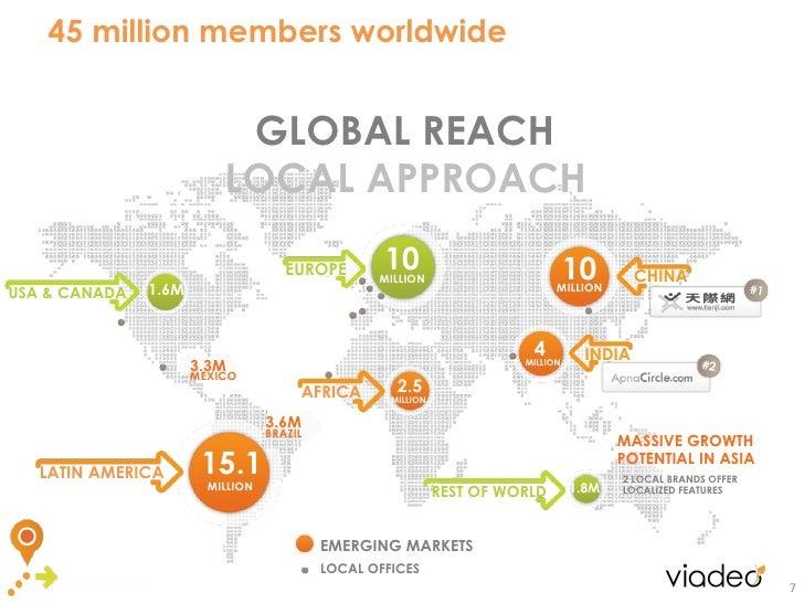 45 million members worldwide                           GLOBAL REACH                          LOCAL APPROACH               ...