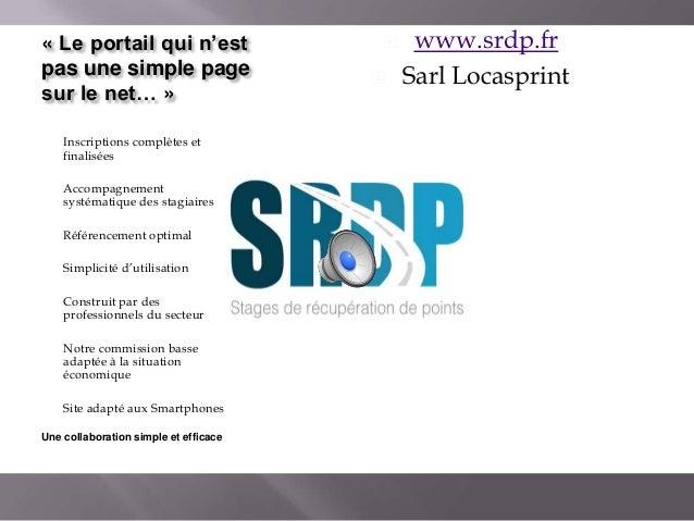 « Le portail qui n'est pas une simple page sur le net… » -  -  Inscriptions complètes et finalisées Accompagnement systéma...
