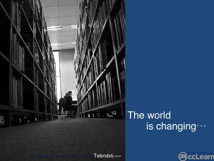 The world  is changing… Tebndxt by Armel