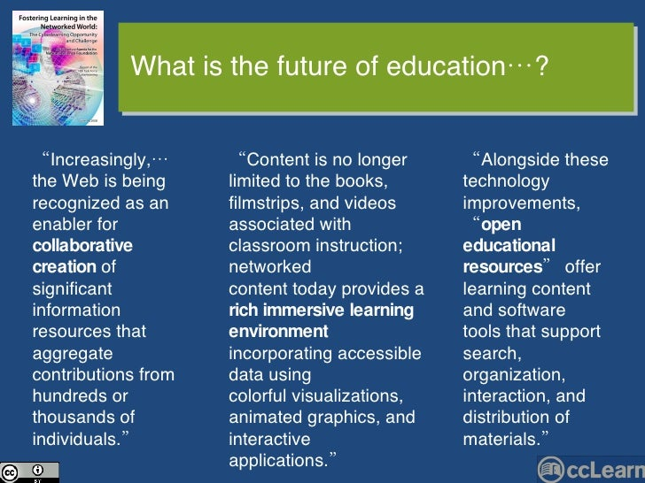 """"""" Content is no longer limited to the books, filmstrips, and videos associated with classroom instruction; networked conte..."""