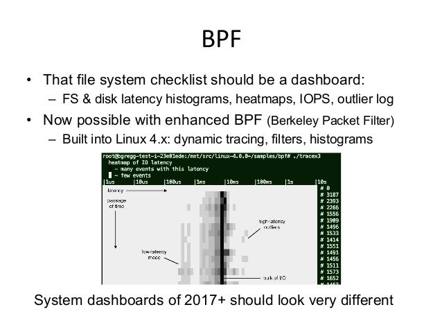 Linux  Network  Checklist   1. sar -n DEV,EDEV 1 2. sar -n TCP,ETCP 1 3. cat /etc/resolv.conf 4. mpstat -P ALL 1...