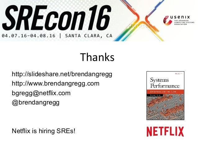 SREcon 2016 Performance Checklists for SREs