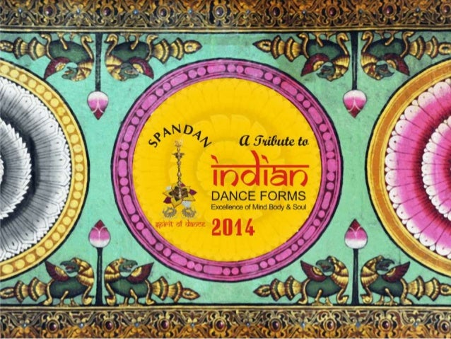 Sreeni's Spandan Calendar of Dance 2014 - A tribute to Indian Dance Forms