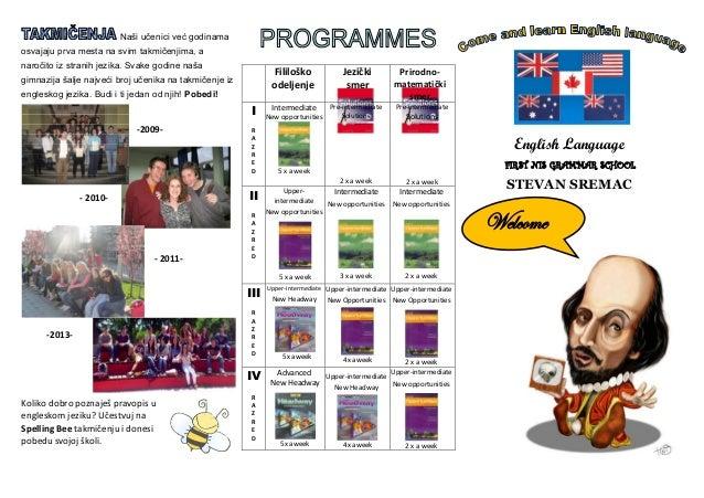 Naši učenici već godinama osvajaju prva mesta na svim takmičenjima, a naročito iz stranih jezika. Svake godine naša gimnaz...