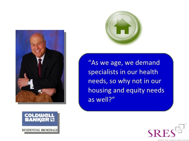how to become a senior real estate specialist